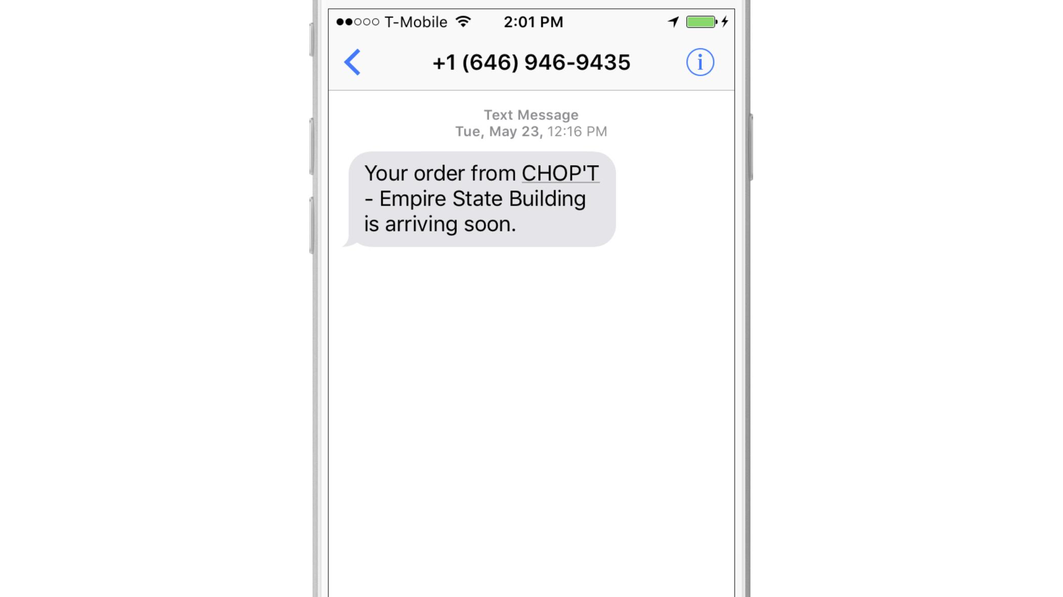 Chopt-SMS