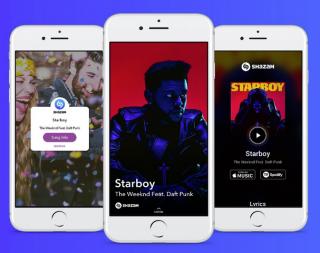 snapchat shazam müzik tanıma özelliği