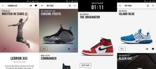 Müşteriler mağazaya girdikleri zaman, Nike mobil uygulama aracılığıyla kendileri için kişiselleştirilmiş bir dünyayla karşılaşıyorlar.